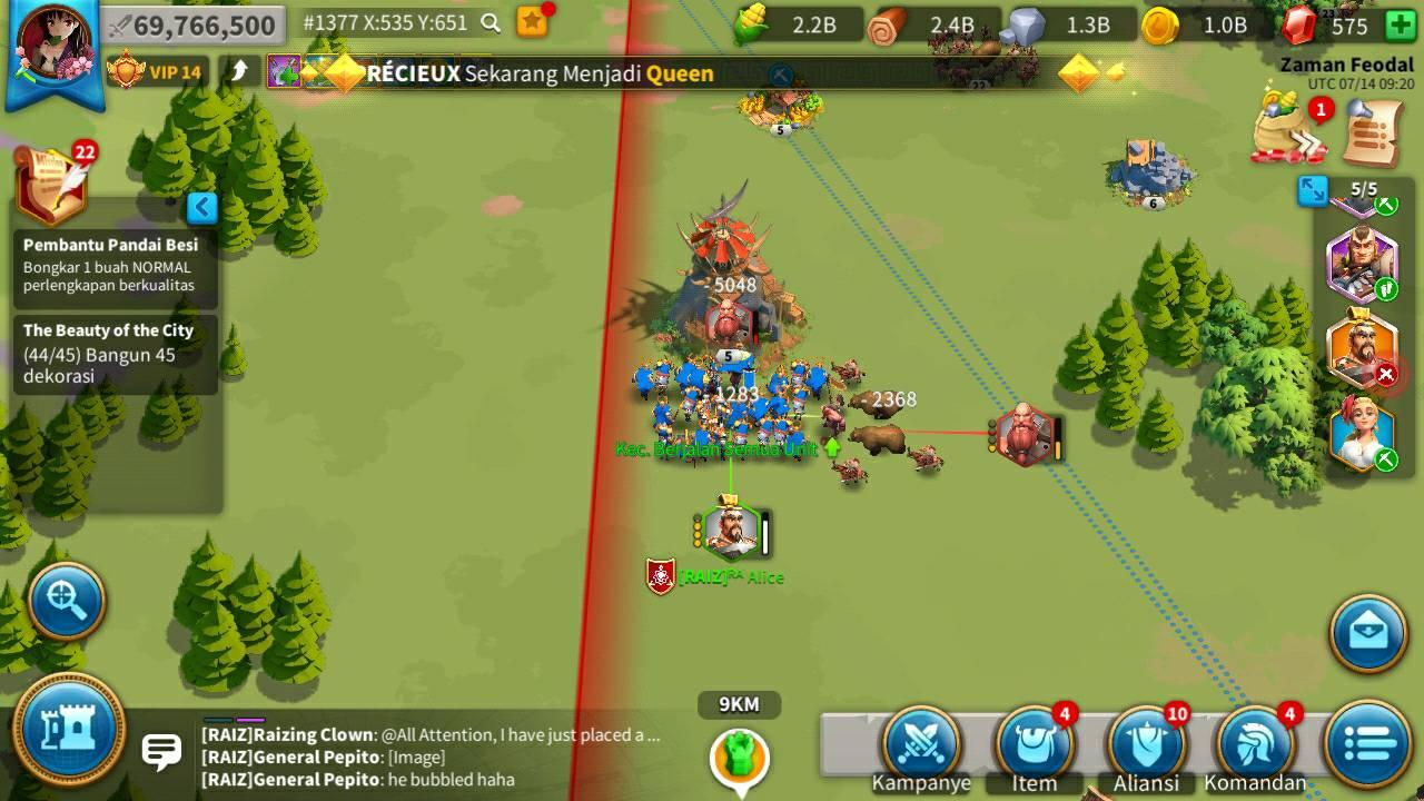 Rise of Kingdoms gameplay