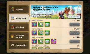 Mighty Army Event