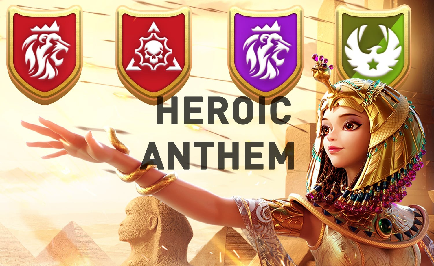 heroic anthem Rise of Kingdoms